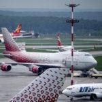 Авиаперевозки через аэропорты МАУ увеличились на 9%